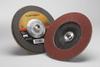 3M Cubitron II 967A Type 27 Coated Ceramic Aluminum Oxide Flap Disc - 40 Grit - 7 in Diameter - 55608 -- 051141-55608 - Image
