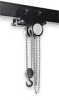 Chain Hoist w/Trolley,2 Ton,10 Ft Lift -- 2CGP5
