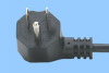 Angled North American 10Amp Power Cord -- 86430165 - Image