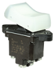 TP Series Rocker Switch, 2 pole, 2 position, Screw terminal, Above Panel Mounting -- 2TP216-8 -Image