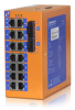 Unmanaged Industrial Ethernet Switches -- HES16/24 Series -Image