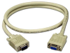 10ft Plenum Rated SVGA HD15 M/F Triple Shielded Extension Cable -- CC320P-10 - Image