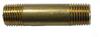 Brass Pipe Nipple -- LNB-18-1.5