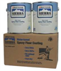 Floor Coating Kit,1 gal,Clear -- 7CX01