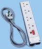 United Kingdom Socket Strip -- 85010322