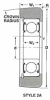 Mast Guide Ball Bearings -- MG-207-FFUB