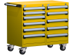 Mobile Compact Cabinet with Partitions -- L3BED-2801L3 -- View Larger Image