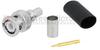 BNC Male (Plug) Connector for LMR-240 Cable, Crimp/Solder