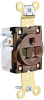 Electrical Receptacle; 15 A; 125 V; Back and Side; Brown; Brass; Brass; Steel -- 70116155