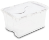 Forty Eight Quart Hinged Lid Storage Box-S1914 -- S1914