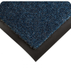 Wearwell 211 Brown Olefin Carpeted Entry Mat - 6 ft Width - 60 ft Length - Vinyl Backing Material - 715411-10411 -- 715411-10411