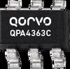 50 - 4000 MHz Cascadable SiGe MMIC Amplifier -- QPA4363C -- View Larger Image
