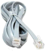14ft RJ12 6P6C Straight Modular Telephone Cable -- PS03-14