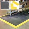 WEARWELL ErgoDeck Modular Mat Tiles/Ergonomic Flooring -- 4360900