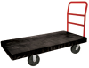 Black Rubbermaid® HD Platform Truck -- 7338