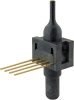 26PC Series, compensated/unamplified, differential, ±15 psi 1x4 SIP 15,2 mm [0.60 in] long, needle port -- 26PCCFJ6D -Image