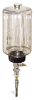 """(Formerly B1745-7X-.25SS), Manual Chain Lubricator, 1/2 gal Polycarbonate Reservoir, 1/4"""" Round Brush Stainless Steel -- B1745-064B1SR1W -- View Larger Image"""