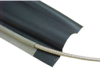 EMI Shielded, Wrap Around Heat Shrink Tubing -- PRT-S - Image