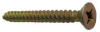 Masonry Screw w/Bit,#8x3/4 In,PK100 -- 15W117