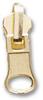 Zipper Sliders #5 / Metal Reversible Jacket - Gold -- ZS5MRGO