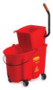 Rubbermaid WaveBrake® Color-Coded Combos - 35 Quart - Red -- RM-758888RED