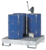 Spill Containment Pallet,4 Drum -- 4HPG4
