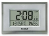 Hygro-Thermometer Alarm Clock,Snooze -- 445706