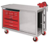 Benches - Work & Maintenance: Mobile 3-Drawer & Door Cabinets -- MDD-2448 - Image