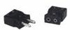 Digi-Sense Thermocouple Standard Connector, type J, plug, black; 100/pack -- GO-93841-60