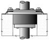Conduit in Rigid/EMT Conduit Sealing Bushing -- CSMC-200P