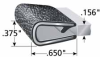 Size-Range Edge Trim -- 1650SB3-339-Image