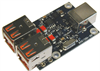 Four-port USB Hub - Open Board OEM Module (Single Unit) -- BB-USBHUB4OEM -Image