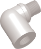 Commercial Grade Thread Standard Elbow Connector Male-Female -- AP03518MFE518P -- View Larger Image