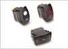 V Series Sealed Rocker Switch -- Contura® IV, V, VII