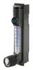 MR3A03SVVT-CP - Polycarbonate Flowmeter, 1-11 SCFH, Air Stainless Steel, w/ Valve -- EW-32900-40