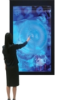 Interactive Touch Display for large LCD and Plasma is transforming viewers into active participants and controllers. -- Touch Display/ eWhite Board
