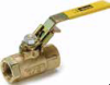 Brass Ball Valves Series 500 -- Locking Handle, Female Pipe Ends XVP500P