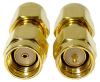 Coaxial Connectors (RF) - Adapters -- ADP-SMAM-SMAMRP-ND