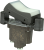 TP Series Rocker Switch, 1 pole, 2 position, Screw terminal, Flush Panel Mounting -- 1TP1-2