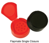 43/485 red flapmate shaker closure -- 66786