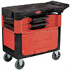 6180-88 - Rubbermaid 6180-88 Trades Cart 38 in L x 19.25 in W x 33.375 in H -- GO-47205-50