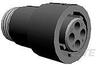 Circular Power Connectors -- 1445535-3 -Image