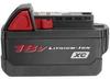 MILWAUKEE High Capacity 18 Volt Battery Pack -- Model# 48-11-1828