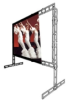 Truss Porta-Fold - Large Front and Rear Projection Screens -- Truss Porta-Fold