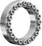 RINGFEDER Stainless Steel Locking Assembly -- RfN 7012 Stainless Steel