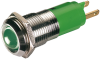 LED-indicator green LED 10mm - 24V DC - 20 mA - IP67 -- 71450 - Image