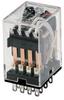 SZR-MY General Purpose Relay: Standard Relay; Plug-in/Solder Terminal; 4PDT; 110/120 Vac -- SZR-MY4-1-AC110-120V