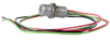 103SR Series Unipolar Hall-Effect Digital Position Sensor with 15/32-32 UNS-2A cylindrical aluminum threaded housing; two hex nuts; 419 mm [16.5 in] 24-gauge stranded lead wires, irradiated polyethyle -- 103SR13A-3
