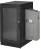 ClimateCab NEMA 12 Server Cabinet with M6 Rails and 5000-BTU AC Unit - 24U, 51