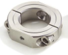 Two Piece Steel Clamp Type Stackale Shaft Mounting Collars -- 19L012ST - Image
